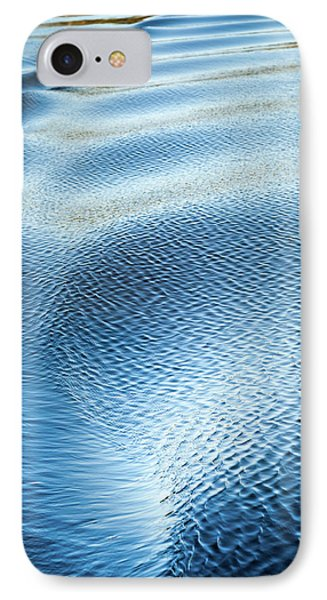 IPhone Case featuring the photograph Blue On Blue by Karen Wiles
