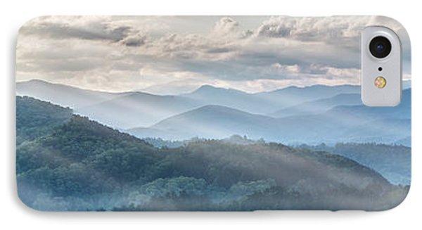 Blue Ridge Sunrise IPhone Case by Jon Glaser