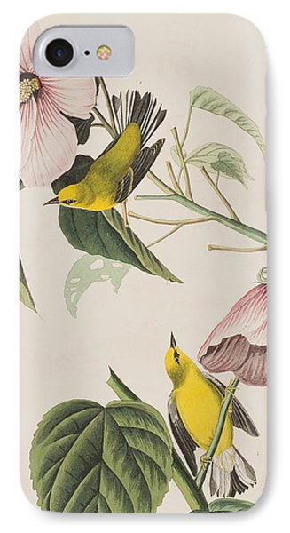 Blue-winged Yellow Warbler  IPhone 7 Case