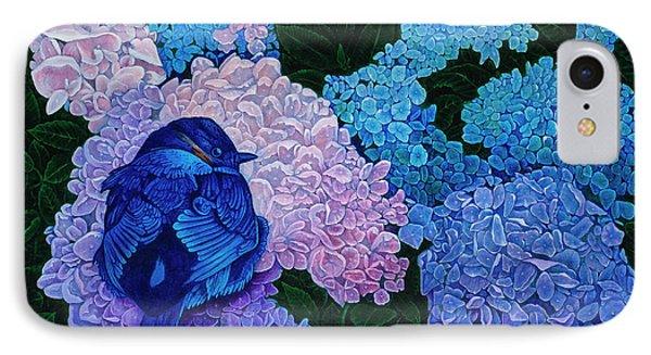 Bluebird IPhone Case by Michael Frank
