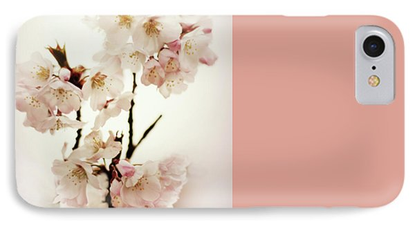 IPhone 7 Case featuring the photograph Blushing Blossom by Jessica Jenney