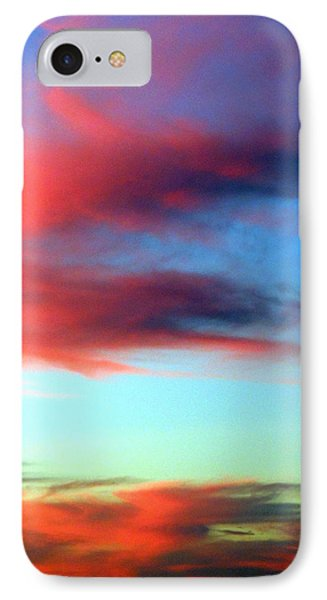 IPhone Case featuring the photograph Blushed Sky by Linda Hollis