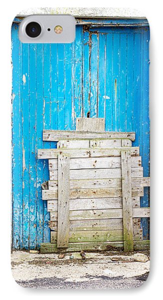 Boarded Up Door IPhone Case by Tom Gowanlock