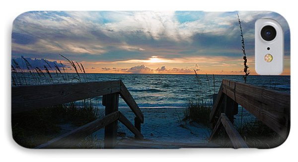 Boardwalk At Delnor-wiggins Pass State Park IPhone Case