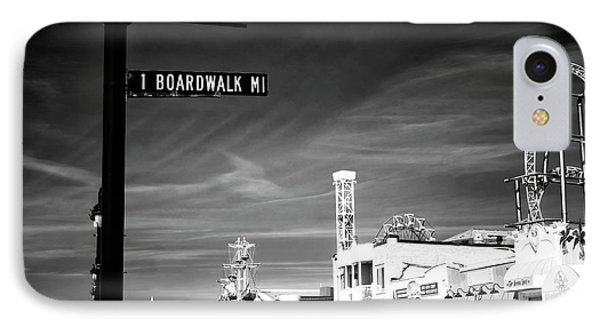 1 Boardwalk Mile IPhone Case by John Rizzuto