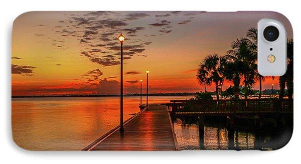 Boardwalk Sunrise IPhone Case