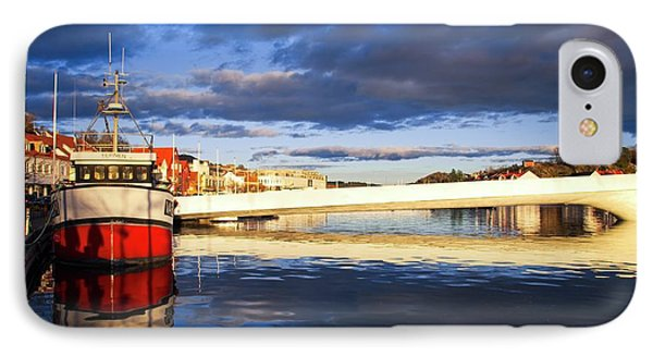 Boat On The River IPhone Case by Mirra Photography