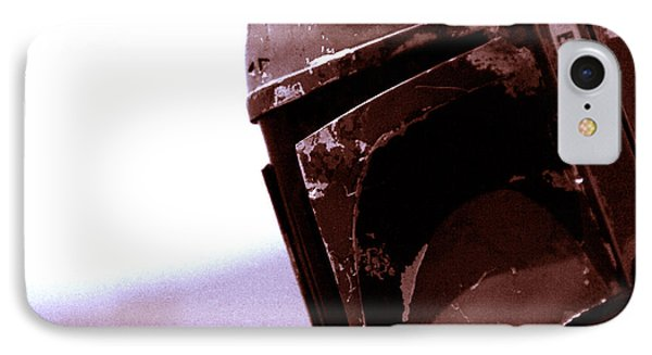 IPhone Case featuring the photograph Boba Fett Helmet 34 by Micah May