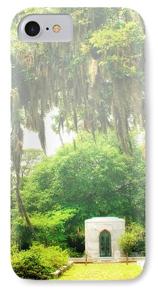 Bonaventure Cemetery Savannah Ga Phone Case by William Dey