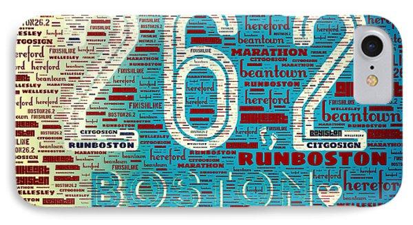 Boston Marathon IPhone Case