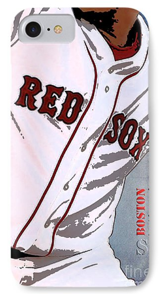 Boston Red Sox Uniform IPhone Case by Pablo Franchi