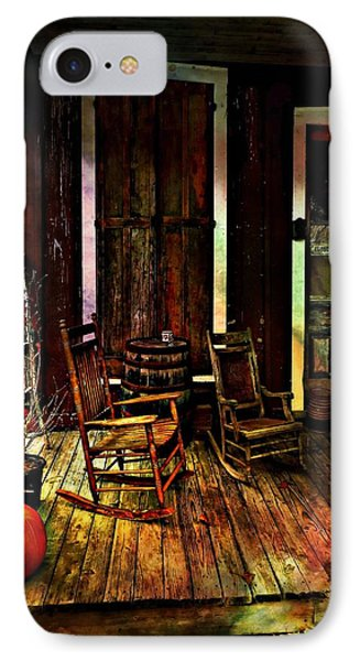 The Country Store Porch IPhone Case by Julie Dant