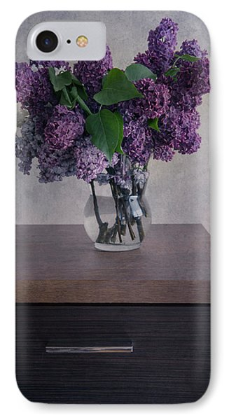 IPhone Case featuring the photograph Bouquet Of Fresh Lilacs by Jaroslaw Blaminsky