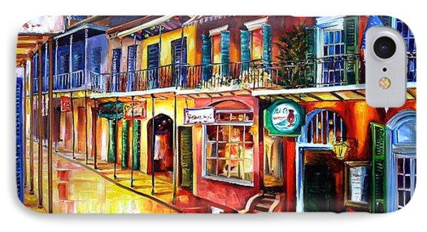 Bourbon Street Red Phone Case by Diane Millsap
