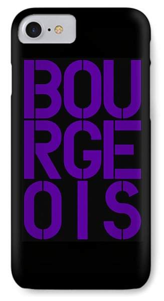 Bourgeois IPhone Case by Three Dots