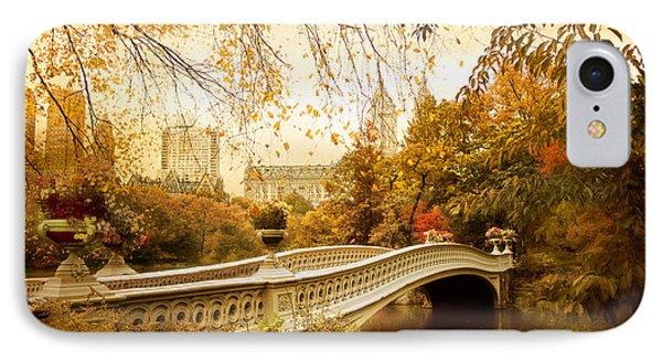 Bow Bridge Autumn IPhone Case