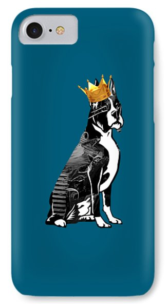 Boxer With Crown Collection IPhone Case