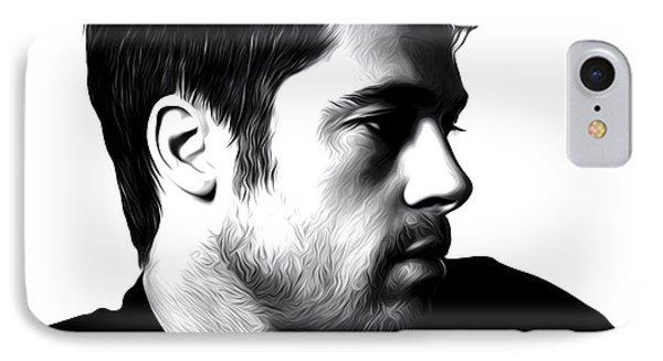 Brad Pitt Poster IPhone Case