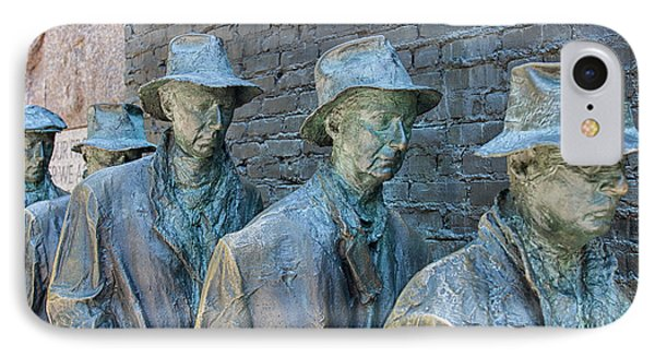 Bread Line Sculpture IPhone Case by Patricia Hofmeester
