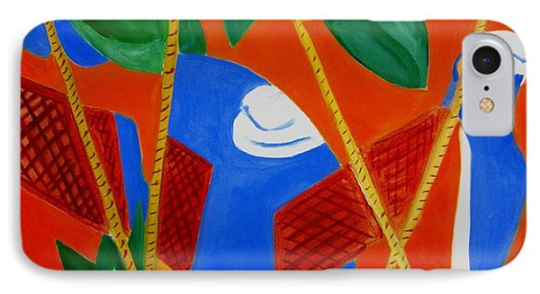 IPhone Case featuring the painting Breakfast With Picasso by Patricia Cleasby
