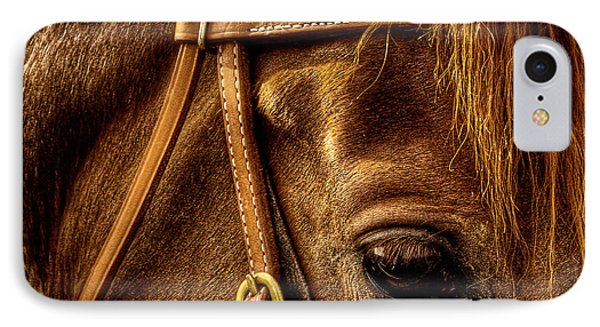 Bridled IPhone Case by David Patterson