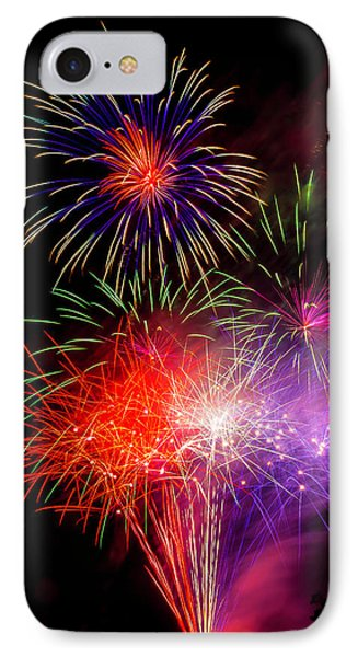 Bright Fireworks IPhone Case