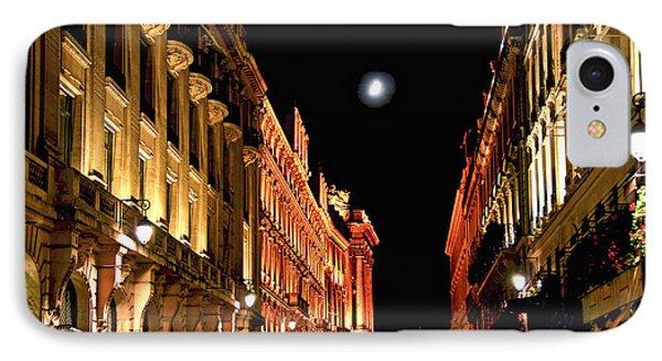 Bright Moon In Paris IPhone Case by Elena Elisseeva