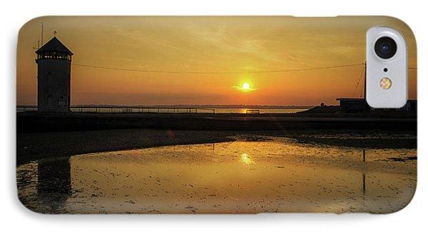 Brightlingsea Beach IPhone Case by Martin Newman