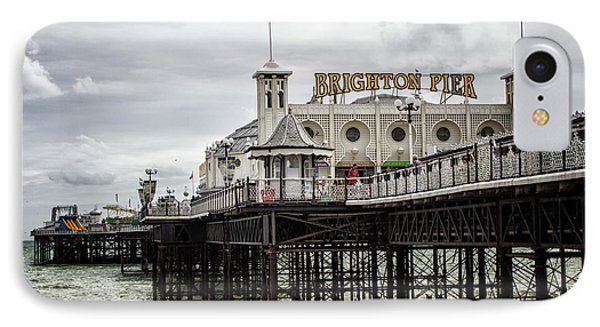 City Sunset iPhone 7 Case - Brighton Pier by Martin Newman