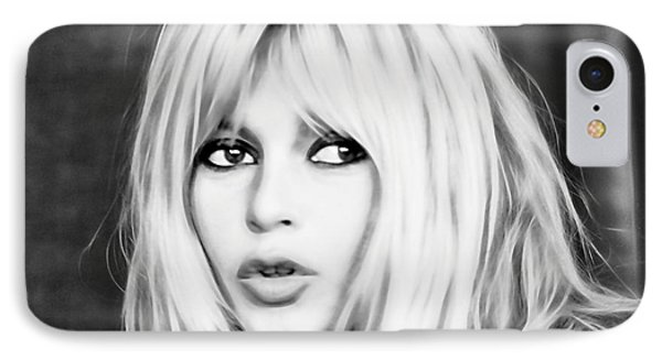Brigitte Bardot Collection IPhone 7 Case by Marvin Blaine