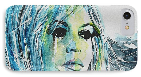 Brigitte Bardot IPhone Case by Paul Lovering