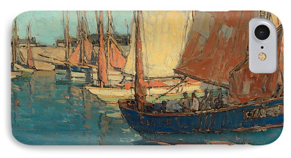 Brittany Boats IPhone Case