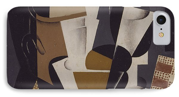 Broc Et Verre IPhone Case by Juan Gris
