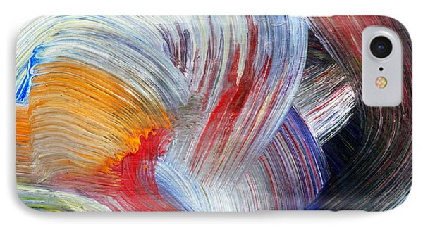 Brush Strokes IPhone Case