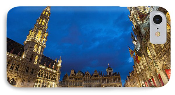 Brussels, Belgium Phone Case by Axiom Photographic
