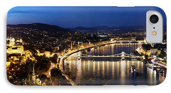 Budapest. View From Gellert Hill IPhone Case