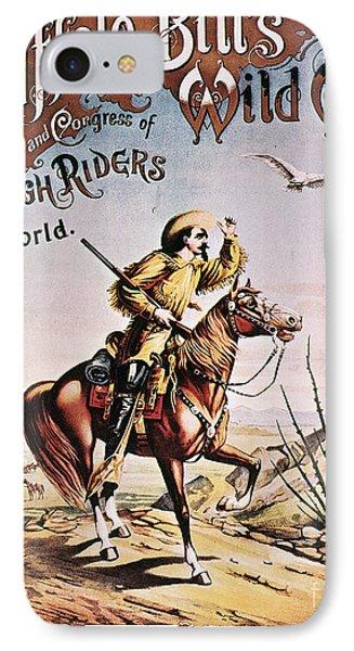 Buffalo Bill: Poster, 1893 Phone Case by Granger