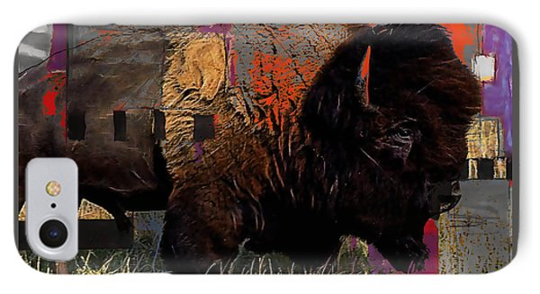 Buffalo Collection IPhone Case by Marvin Blaine