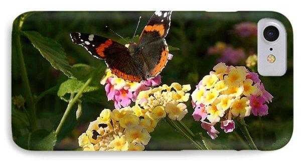 Busy Butterfly Side 2 IPhone Case by Felipe Adan Lerma