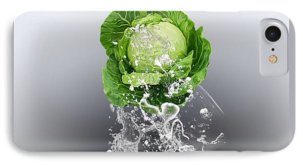 Cabbage Splash IPhone Case by Marvin Blaine