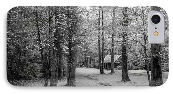 Cabin In Cades Cove IPhone Case by Jon Glaser