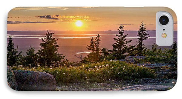 Cadillac Mountain Sunset  IPhone Case