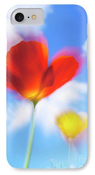 California Poppies IPhone Case by Veikko Suikkanen