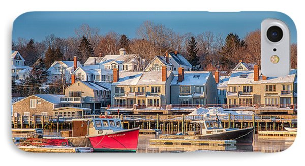 Camden Red Boat IPhone Case by Susan Cole Kelly