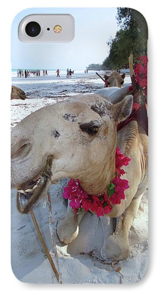 Camel On Beach Kenya Wedding3 IPhone Case by Exploramum Exploramum