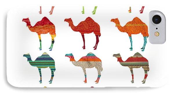 Camels IPhone 7 Case by Art Spectrum