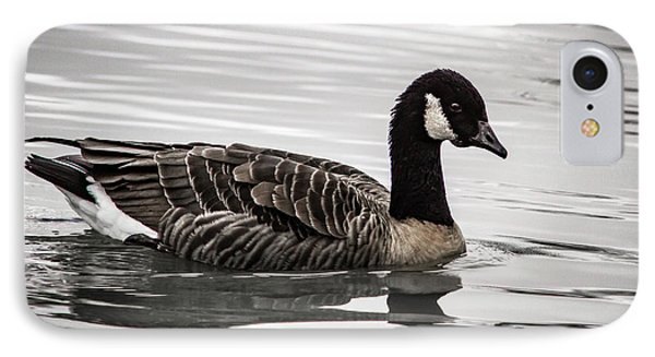IPhone Case featuring the photograph Canada Goose by Jean Noren