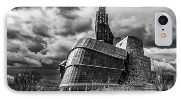 Canadian Museum For Human Rights IPhone Case by Tom Gort