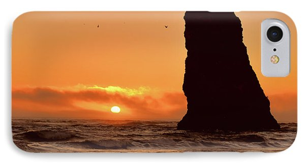Cannon Beach Sunset IPhone Case by Scott Cameron