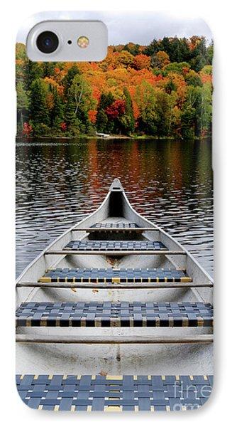 Canoe On A Lake Phone Case by Oleksiy Maksymenko